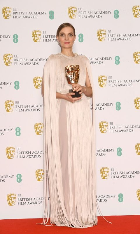 "Hildur wins British Academy Film Award for ""Best Film Music"" for ""Joker"""