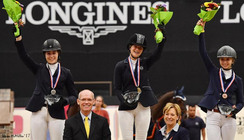 Jennifer Gates claims USEF U25 Champion in 2017