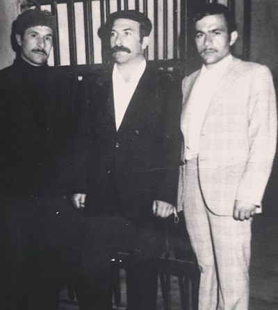 Cavit Çetin Güner's father (left) and uncles