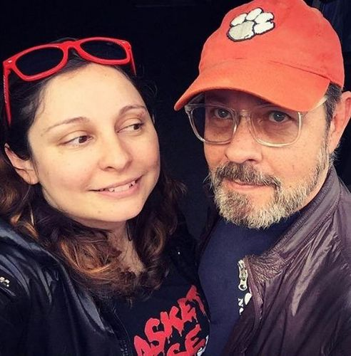 James Michael Tyler and Jennifer Carno