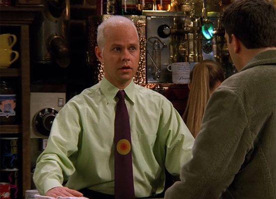 James Michael Tyler in a scene from Friends (1994)