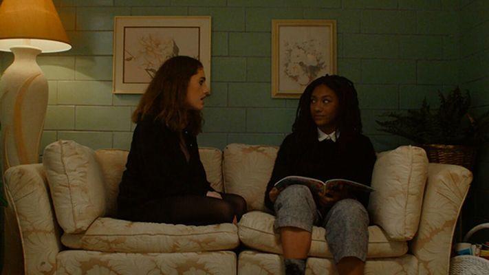 Rachel Sennott in a scene from Tahara (2020)