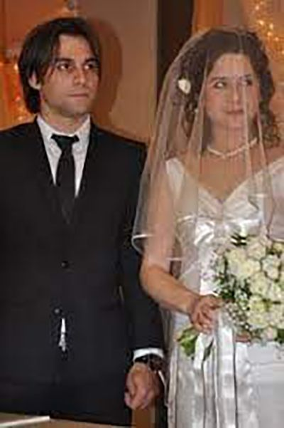 Wedding picture of Cavit Çetin Güner and Reyhan Türkü Hazer