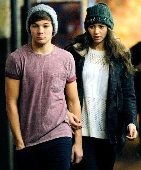 Eleanor Calder with her boyfriend Louis Tomlinson