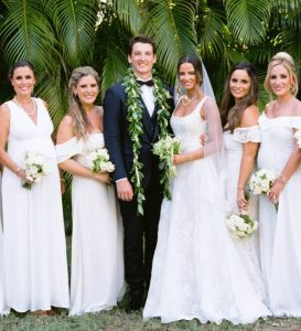 Keleigh Sperry and Miles Teller's wedding day picture
