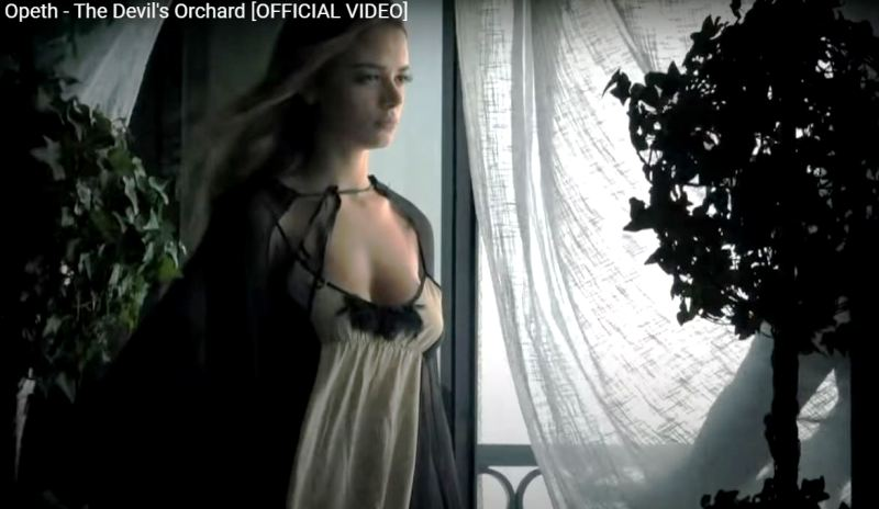 Keleigh Sperry in Opeth - The Devils Orchard (2011)