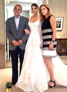 Keleigh Sperry with her parents