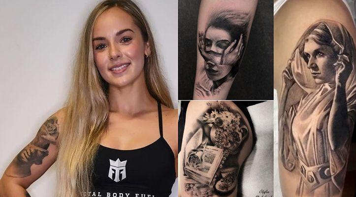 Kelsey Henson's tattoos