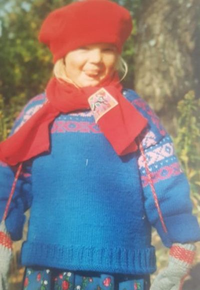 Leonie Hanne as a child