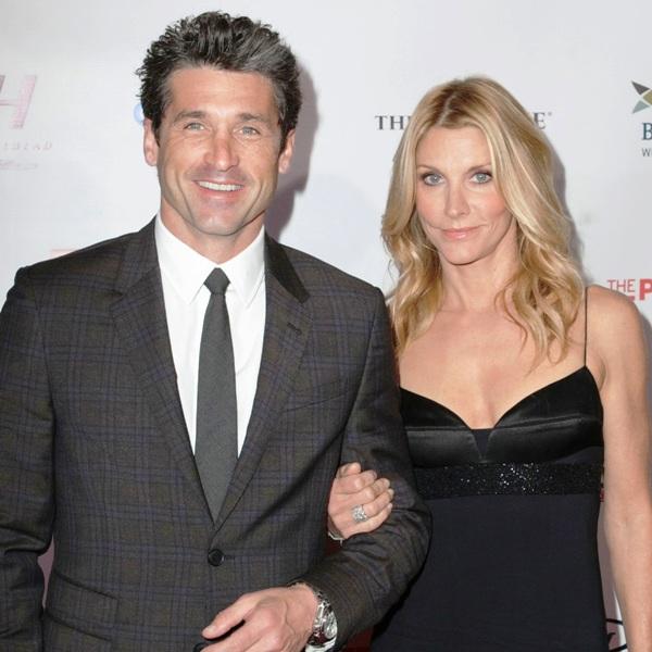 Jillian Fink with her husband Patrick Dempsey