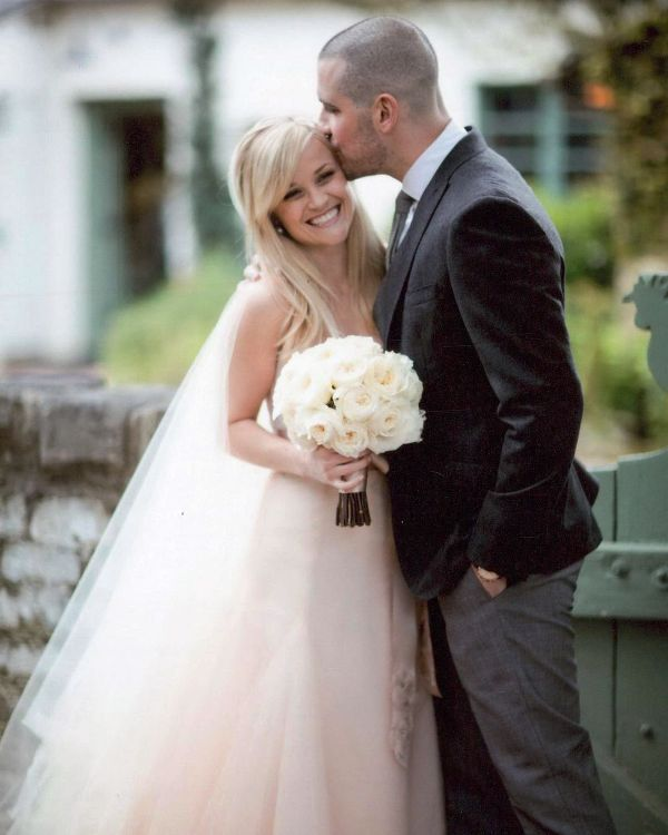 Jim Toth and Reese Witherspoon's wedding day picture