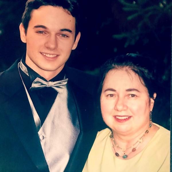 Matt Rutler with his mother