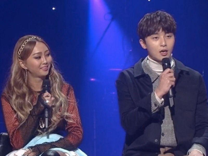 Park Seo-joon with Hyolyn
