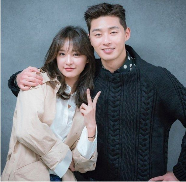 Park Seo-joon with Kim Ji-won