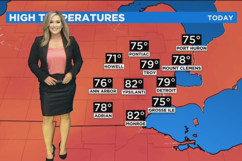 April Moss in CW50's 'First Forecast'