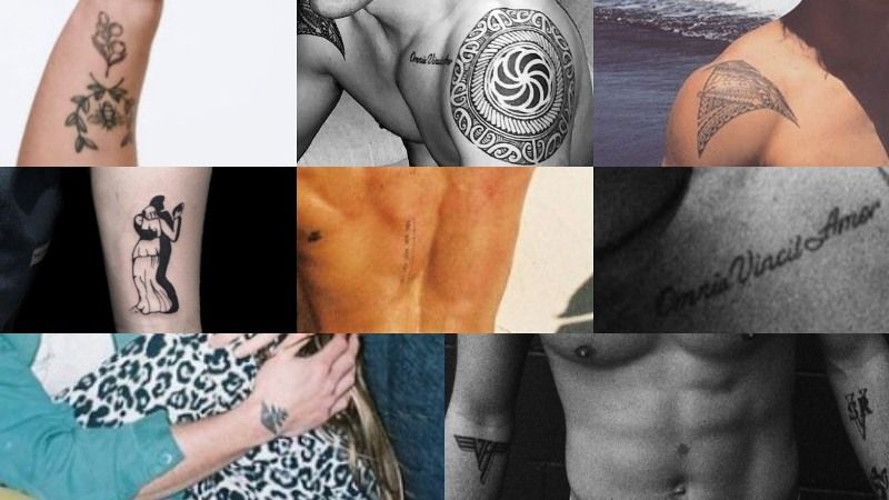KJ Apa tattoos